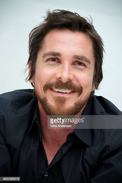Christian Bale at the 'Out Of The Furnace' Press Conference at the Four Seasons Hotel on November 16 2013 in Beverly Hills City