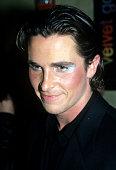 Christian Bale attends premiere of 'Velvet Goldmine' New York October 26 1998