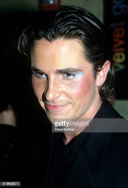 Christian Bale attends premiere of 'Velvet Goldmine' New York October 26 1998