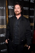 Christian Bale attends the after party for the 'American Hustle' screening at Monkey Bar on December 6 2013 in New York City