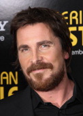 Christian Bale attends the 'American Hustle' screening at Ziegfeld Theater on December 8 2013 in New York City