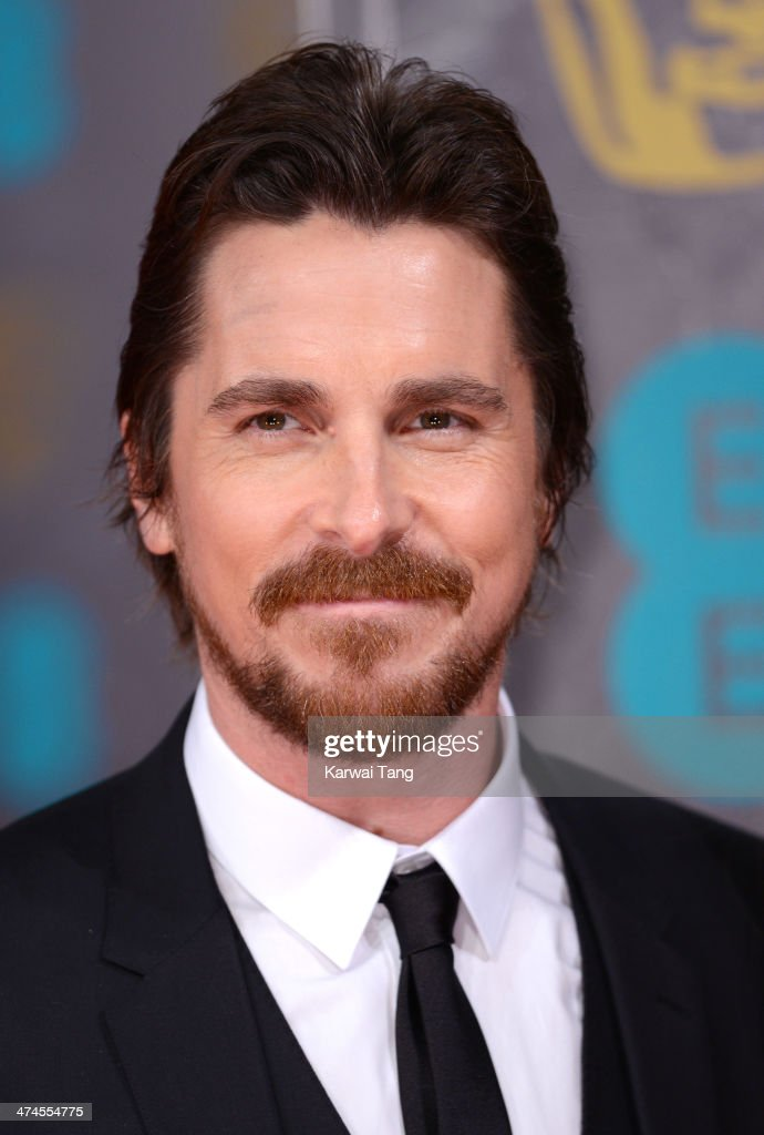 <a gi-track='captionPersonalityLinkClicked' href=/galleries/search?phrase=Christian+Bale&family=editorial&specificpeople=239518 ng-click='$event.stopPropagation()'>Christian Bale</a> attends the EE British Academy Film Awards 2014 at The Royal Opera House on February 16, 2014 in London, England.