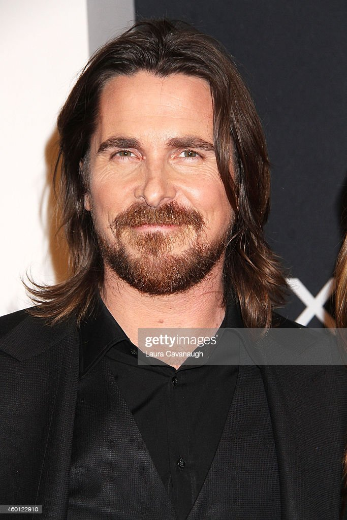 Christian Bale attends the 'Exodus Gods And Kings' New York Premiere at Brooklyn Museum on December 7 2014 in New York City