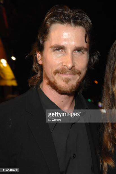 Christian Bale during 'Harsh Times' Los Angeles Premiere Red Carpet at Crest Theater in Westwood CA United States