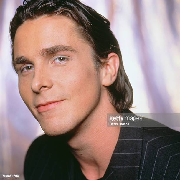 Christian Bale in Silver Eyeliner