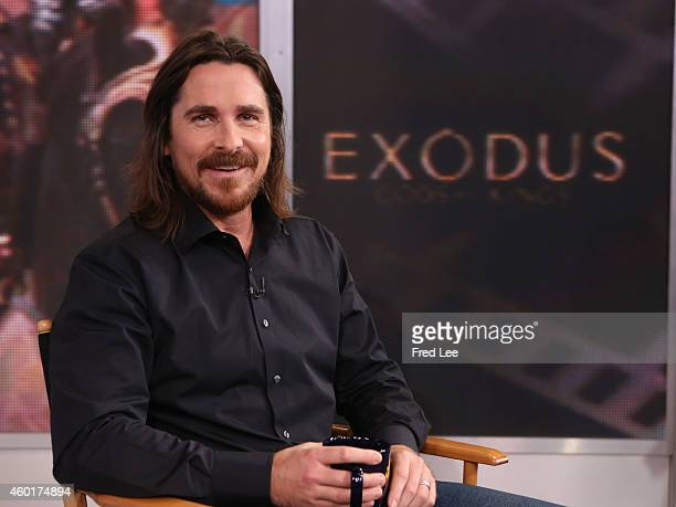 AMERICA Christian Bale is a guest on 'Good Morning America' 12/5/14 airing on the ABC Television Network