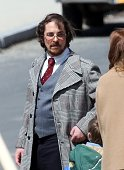 Christian Bale is seen on April 09 2013 in Boston Massachusetts