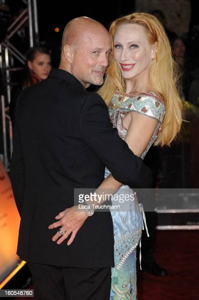 Christian Berkel and Andrea Sawatzki attend the 48th Golden Camera Awards at the Axel Springer Haus on February 2 2013 in Berlin Germany