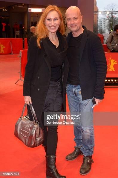 Christian Berkel and Andrea Sawatzki attend the 'Inbetween Worlds' premiere during 64th Berlinale International Film Festival at Berlinale Palast on...