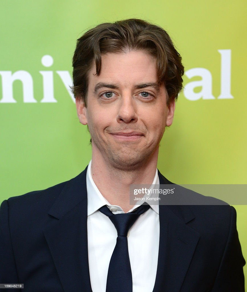 Christian Borle attends NBCUniversal's '2013 Winter TCA Tour' Day 1 at Langham Hotel on January 6, 2013 in Pasadena, California.