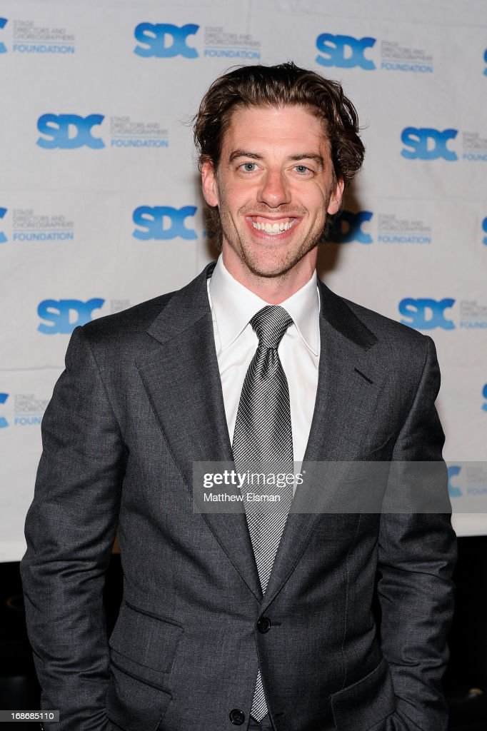 Christian Borle attends the 2013 Mr. Abbott Award event at B.B. King Blues Club & Grill on May 13, 2013 in New York City.