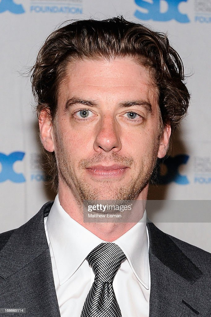 <a gi-track='captionPersonalityLinkClicked' href=/galleries/search?phrase=Christian+Borle&family=editorial&specificpeople=2530960 ng-click='$event.stopPropagation()'>Christian Borle</a> attends the 2013 Mr. Abbott Award event at B.B. King Blues Club & Grill on May 13, 2013 in New York City.
