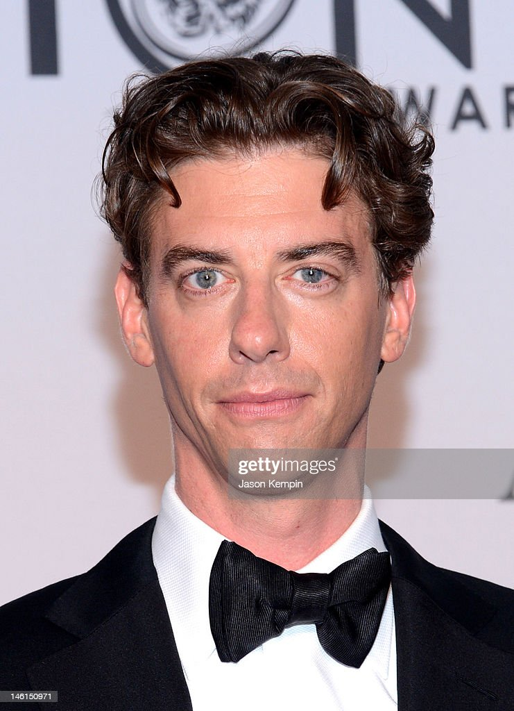 Christian Borle attends the 66th Annual Tony Awards at The Beacon Theatre on June 10, 2012 in New York City.