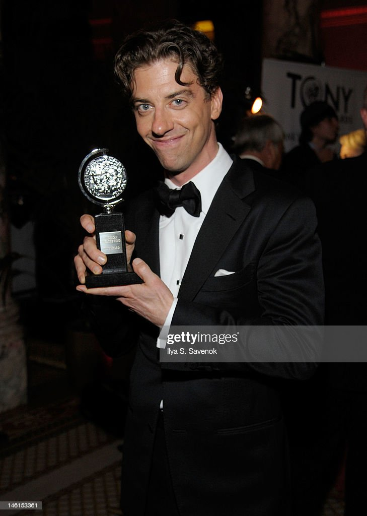 Christian Borle attends the 66th Annual Tony Awards at The Plaza Hotel on June 10, 2012 in New York City.
