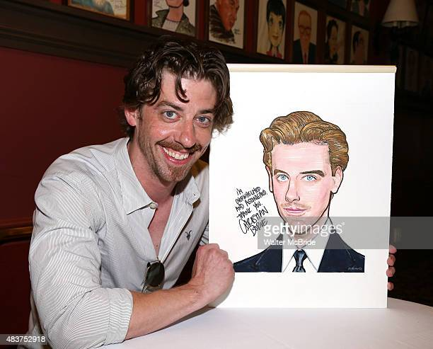 Christian Borle attends the Christian Borle Sardi's portrait unveiling at Sardi's on August 12 2015 in New York City