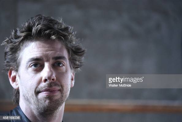 Christian Borle attends the 'Peter Pan LIVE press junket at Baryshinkov Arts Center on October 30 2014 in New York City