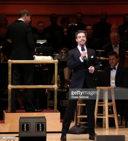 Christian Borle performs during The New York Pops 31st Birthday Gala at Carnegie Hall on April 28 2014 in New York City