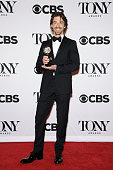 Christian Borle poses in the press room during the American Theatre Wing's 69th Annual Tony Awards at Radio City Music Hall on June 7 2015 in New...