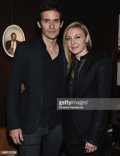 Christian Camargo and Juliet Rylance attend 'Days And Nights' New York Premiere After Party at Neuehouse on September 25 2014 in New York City