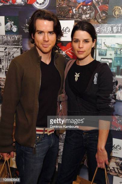Christian Campbell and Neve Campbell at Kiehl's during 2005 Park City Motorola Lodge at Motorola Lodge in Park City Utah United States