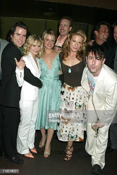 Christian Campbell Kristen Bell Amy Spanger Robert Greenblatt Showtime President of Entertainment Ana Gasteyer Alan Cumming and Robert Torti