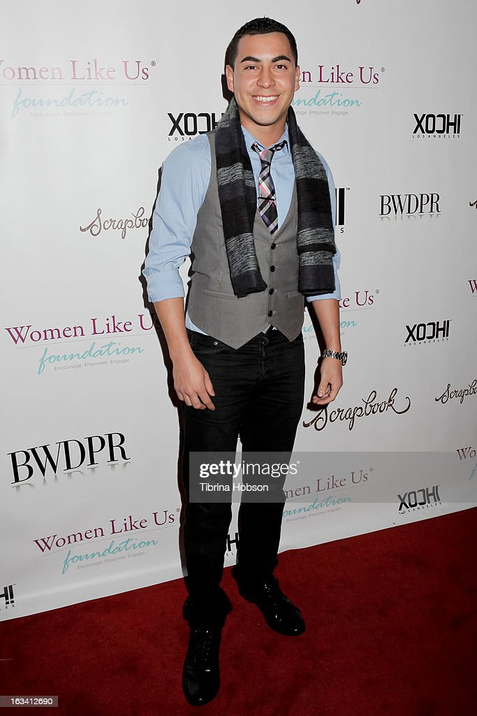 Christian Campos attends the pre-LAFW launch party in support of the Women Like Us Foundation at Lexington Social House on March 8, 2013 in Hollywood, California.