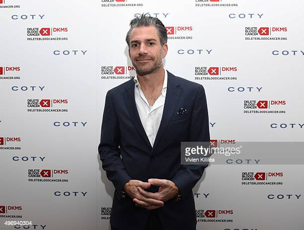 Christian Carino attends the Delete Blood Cancer DKMS Dinner at Terrine on November 12 2015 in Los Angeles California
