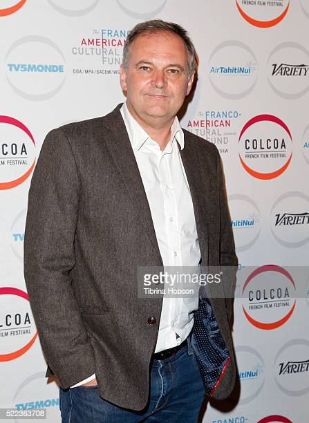 Christian Carion attends opening night of the 20th annual COLCOA French Film Festival at Directors Guild of America on April 18 2016 in Los Angeles...