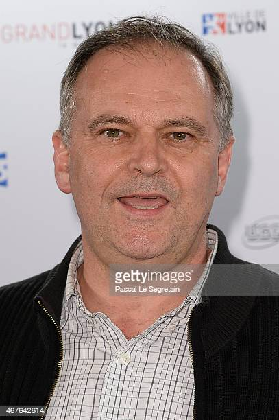 Christian Carion attends The Lumiere Le Cinema Invente exhibition preview on March 26 2015 in Paris France
