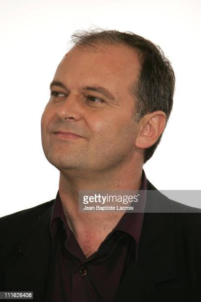 Christian Carion during 2005 Cannes Film Festival 'Joyeaux Noel' Photocall at Palais de Festivals in Cannes France