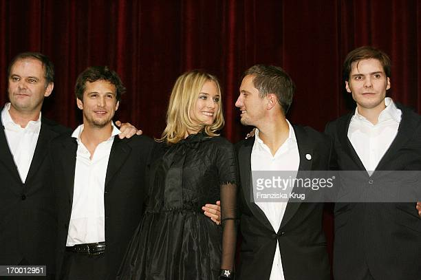 Christian Carion Guillaume Canet Diane Kruger Benno Fürmann Daniel Brühl at The 'Merry Christmas' Premiere In The Comic Opera in Berlin 231105