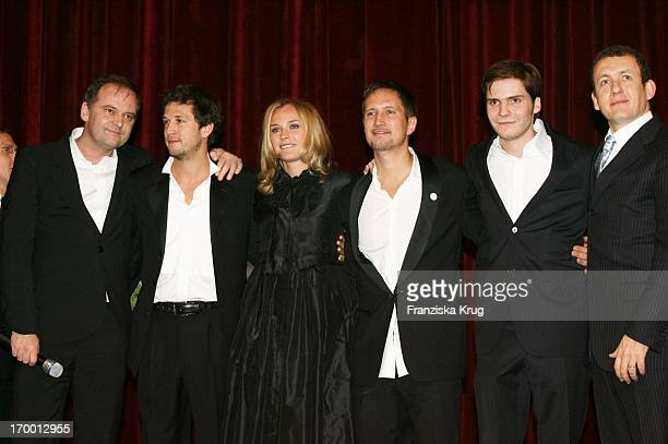 Christian Carion Guillaume Canet Diane Kruger Benno Fürmann Daniel Brühl Dany Boon at The 'Merry Christmas' Premiere In The Comic Opera in Berlin...