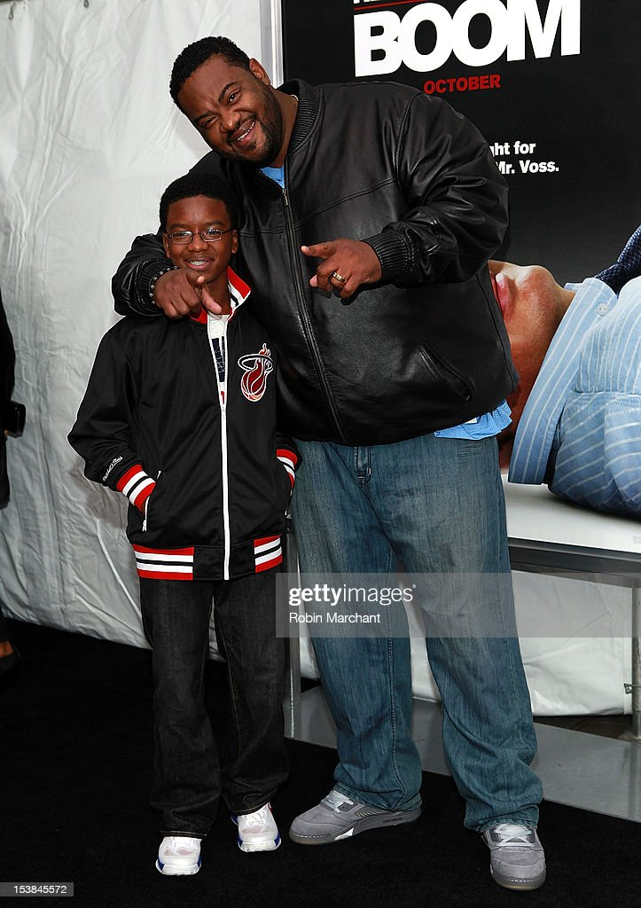 Christian Chapman (L) and Grizzwald 'Grizz' Chapman attend the 'Here Comes The Boom' premiere at AMC Loews Lincoln Square on October 9, 2012 in New York City.