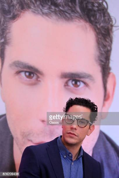 Christian Chavez poses during a press conference as part of Giff 2017 Activities on July 28 2017 in Guanajuato Mexico