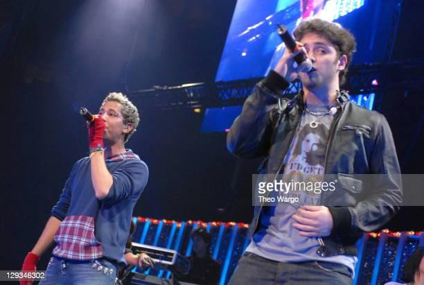 Christian Chávez and Christopher Uckermann of RBD perform 'Tu Amor'