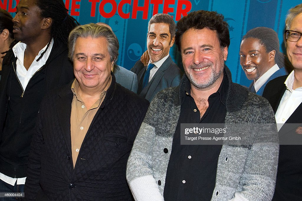 Christian Clavier and Phillipe De Chauveron attend the special screening of the film 'Monsieur Claude und seine Toechter' during the 14th French Film...
