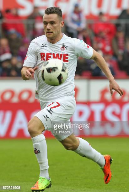 Christian Clemens of Colonge in action during the Bundesliga match between 1 FC Koeln and Hertha BSC at RheinEnergieStadion on March 18 2017 in...