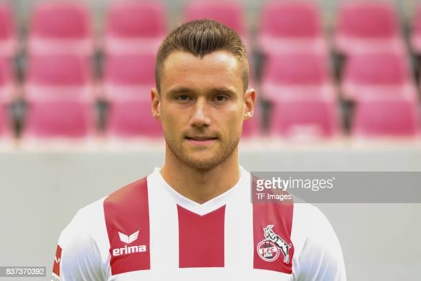 Christian Clemens of Koeln poses during the team presentation at Rheinenergiestadion on July 24 2017 in Cologne Germany