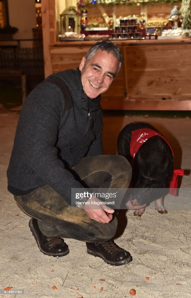 Christian Clerici during the Gut Aiderbichl Christmas Market opening on November 14, 2017 in Henndorf am Wallersee, Austria.