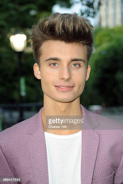 Christian Collins attends Forgive for Peace Kickoff at Mineral Springs in Central Park on September 21 2015 in New York City