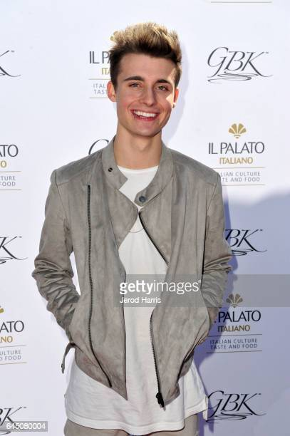 Christian Collins attends the GBK PreOSCAR Luxury Lounge on February 24 2017 in Beverly Hills California