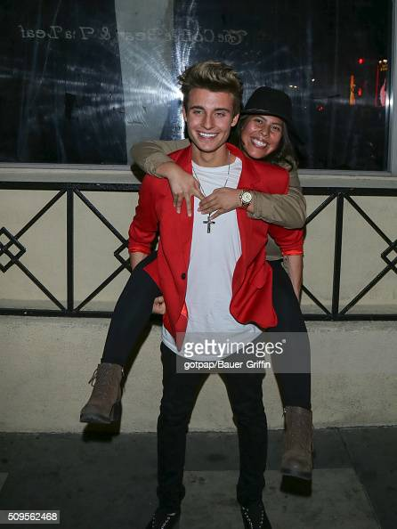 Christian Collins is seen on February 10 2016 in Los Angeles California