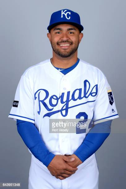 Christian Colon of the Kansas City Royals poses during Photo Day on Monday February 20 2017 at Surprise Stadium in Surprise Arizona