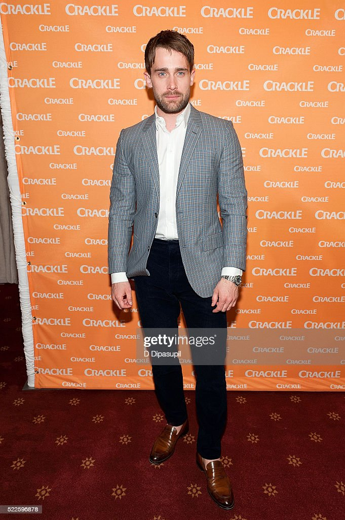 Christian Cooke attends Crackle's 2016 Upfront Presentation at New York City Center on April 20 2016 in New York City