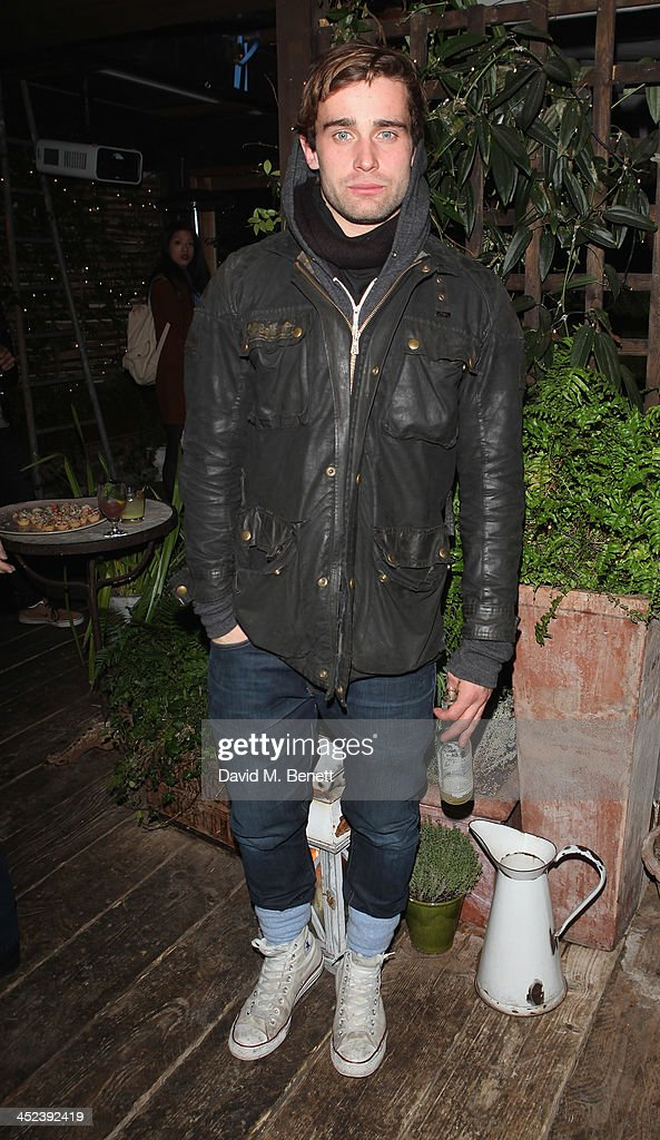 Christian Cooke attends the Peter Saville for Lacoste launch at Shoreditch House on November 28, 2013 in London, England.