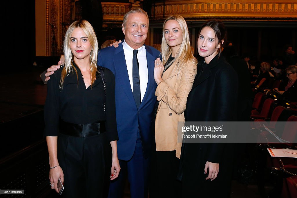 Christian CourtinClarins his daughter Virginie CourtinClarins his nieces Jenna CourtinClarins and her sister Prisca CourtinClarins attend the 17th...
