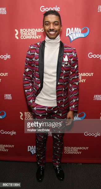 Christian Dante White attend the cast party for the Roundabout Theatre Company presents a OneNight Benefit Concert Reading of 'Damn Yankees' at the...