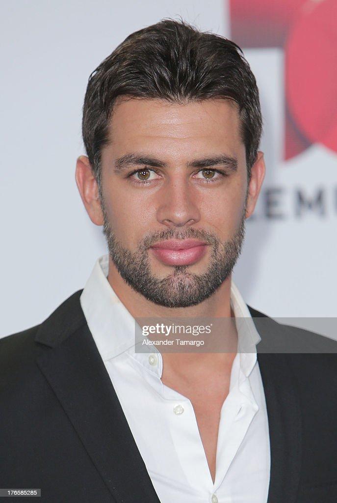 Christian de la Campa attends Telemundo's Premios Tu Mundo Awards at American Airlines Arena on August 15, 2013 in Miami, Florida.