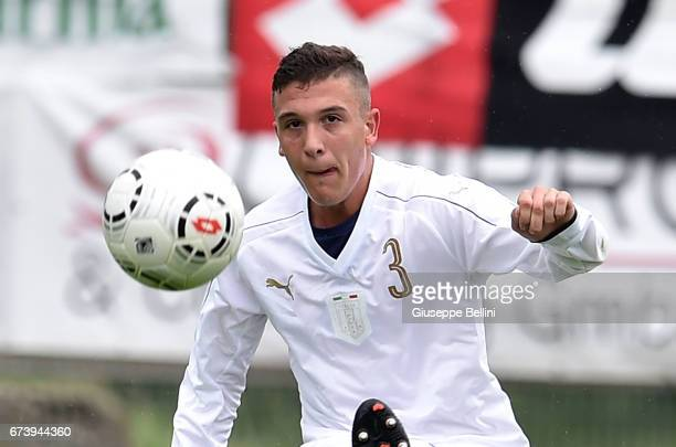 Christian Dimarco of Italy U15 in action during the Torneo delle Nazioni match between Italy U15 and UAE U15 on April 27 2017 in Gradisca d'Isonzo...