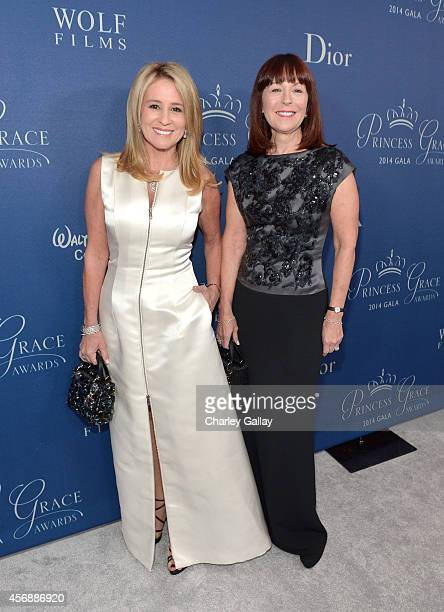 Christian Dior North America Karen Watkins and President/CEO Perfumes and cosmetics Americas at LVMH and President Christian Dior Couture Pamela...